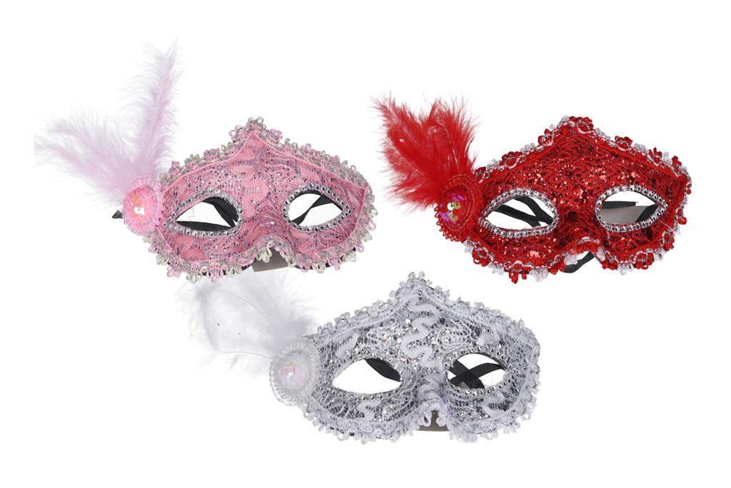 Maska - karnevalový doplněk, Wiky, W003133