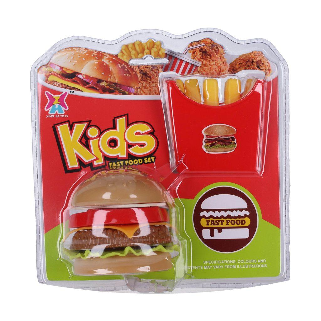 Hamburger s hranolkami, Wiky, W114586