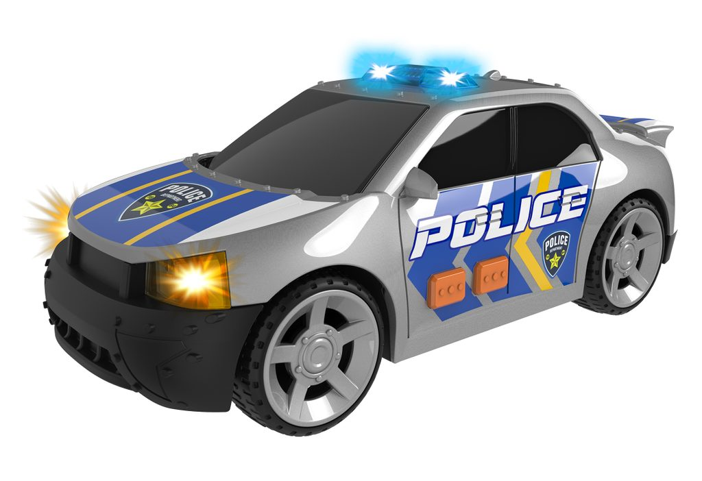 Auto policejní s efekty 25 cm, Teamsterz, W008178