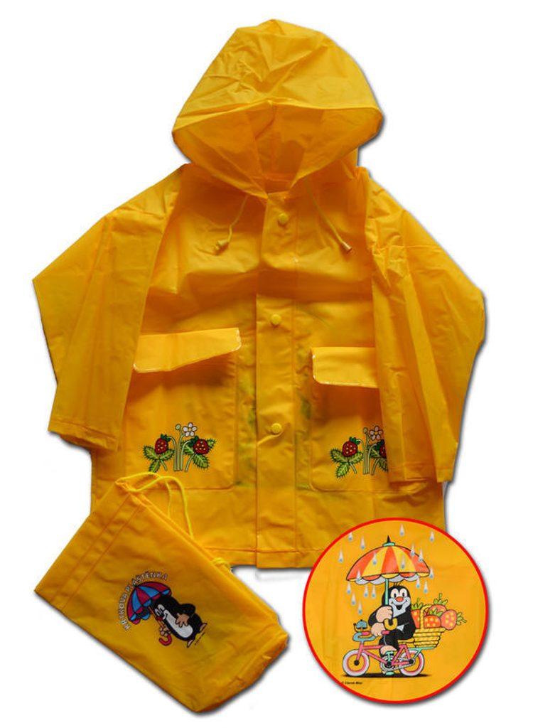 Pláštěnka Krtek, Pidilidi, PL01, žlutá - 92