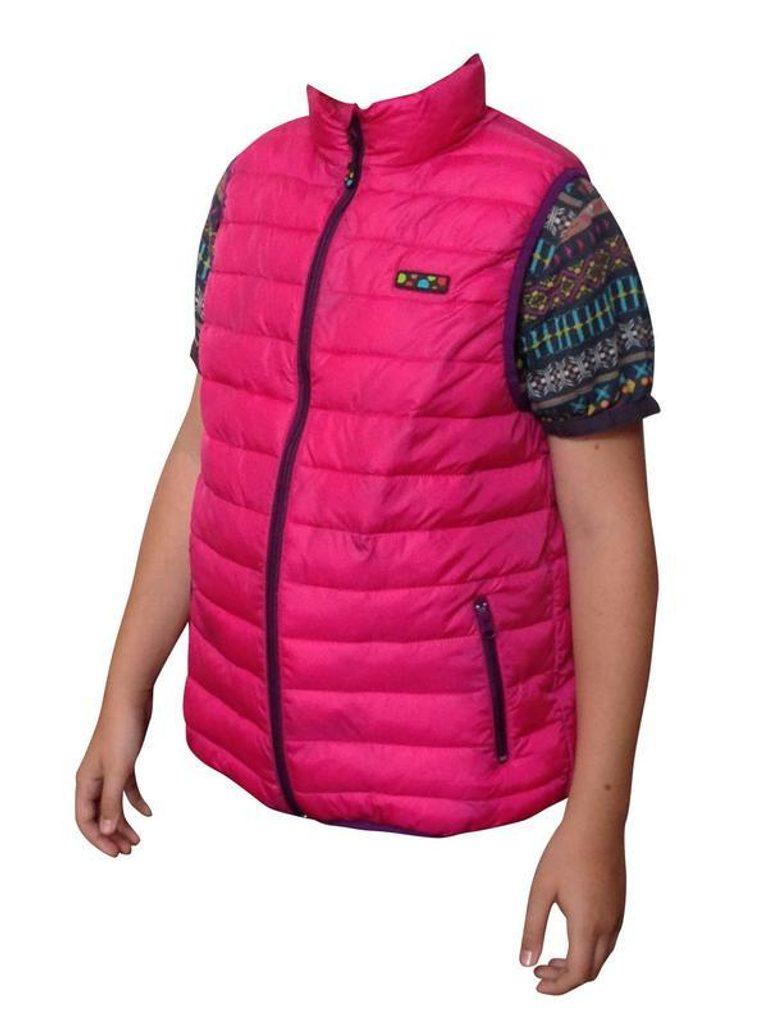 vesta extra lehká nylonová, Pidilidi, PD996, růžová - 92