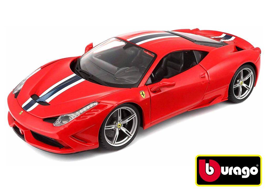 Bburago 1:18 Ferrari 458 Speciale Ferrari Race-Play Red, Bburago, W007241