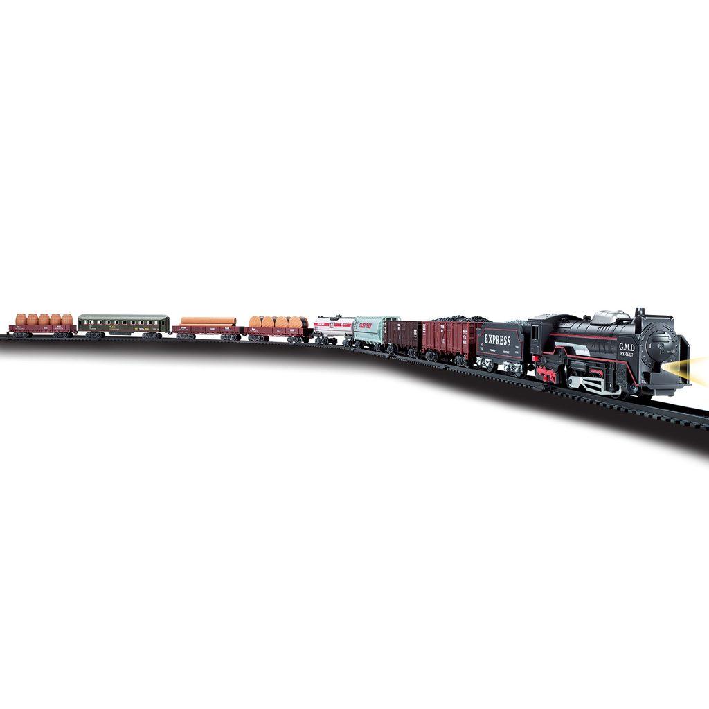 Vlak set 122x68 cm s efekty, Wiky, W001617