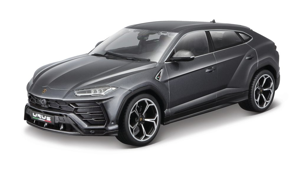 Bburago 1:18 Lamborghini Urus šedý, Bburago, W102369