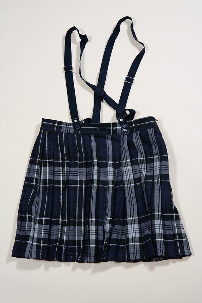 sukně plisovaná se šlemi, Sobe, 15KKGETK167, černá - 152