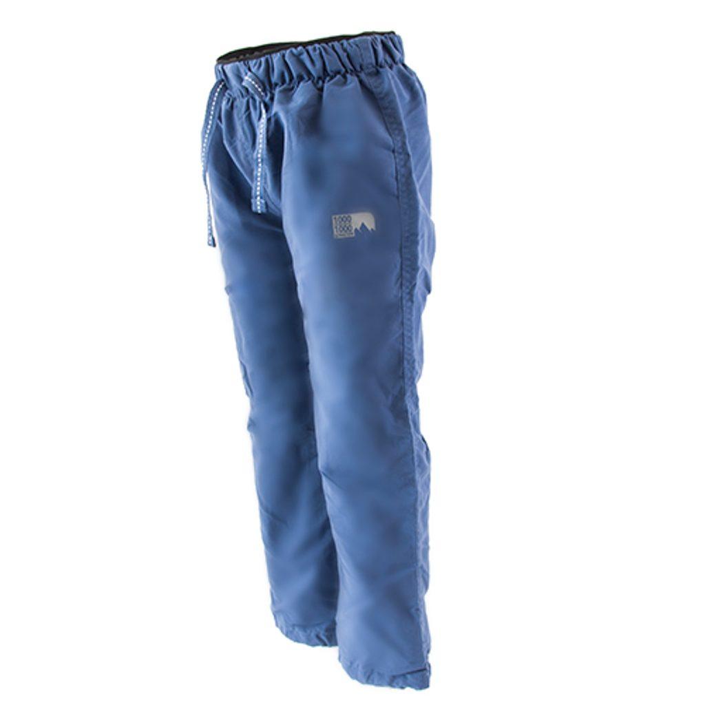 kalhoty sportovní chlapecké podšité fleezem outdoorové, Pidilidi, PD1075-04, modrá - 92