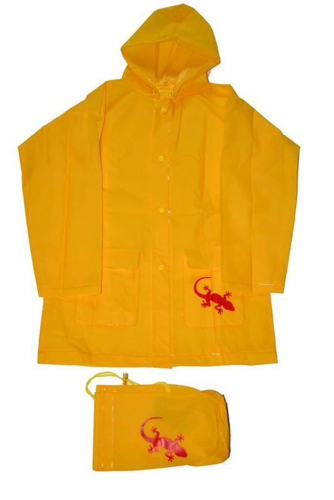 pláštěnka Salamander+pytlik, Pidilidi, PL0045-20, žlutá - 140