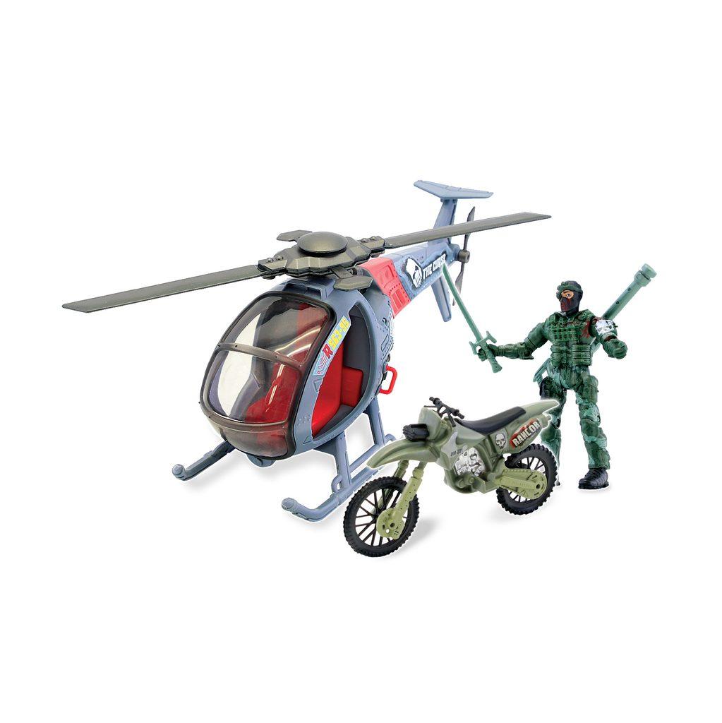 The Corps Voják s vrtulníkem, světelnými a zvukovými efekty, The Corps, W001312