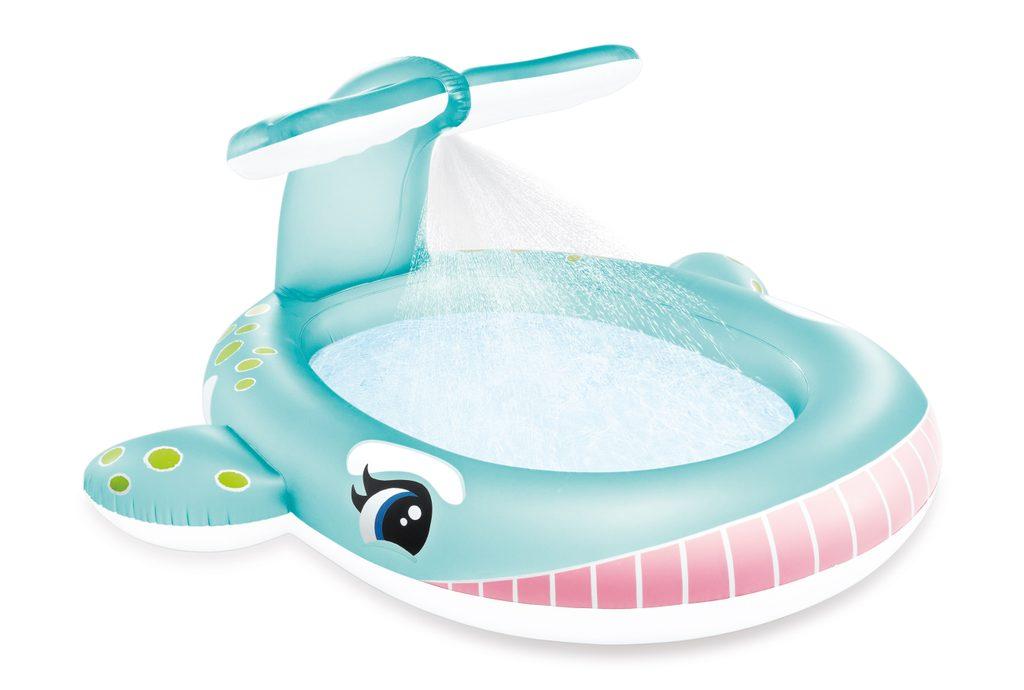 Dětský bazén velryba s rozstřikováním, INTEX, W002176