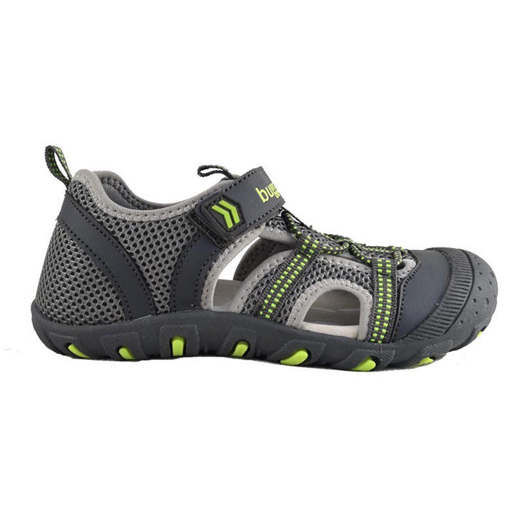 sandály sportovní OUTDOOR, Bugga, B00157-09, šedá - 27