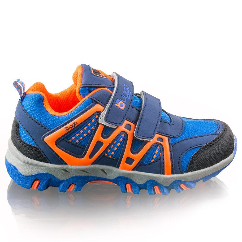 chlapecké outdoorové softshellové boty AKONI, Bugga, B00163-04, modrá - 38