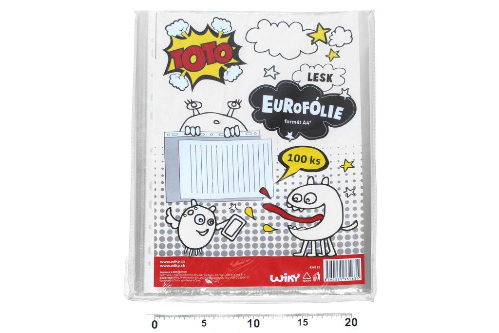 Eurofolie A4 - lesk, TOTO, W834112