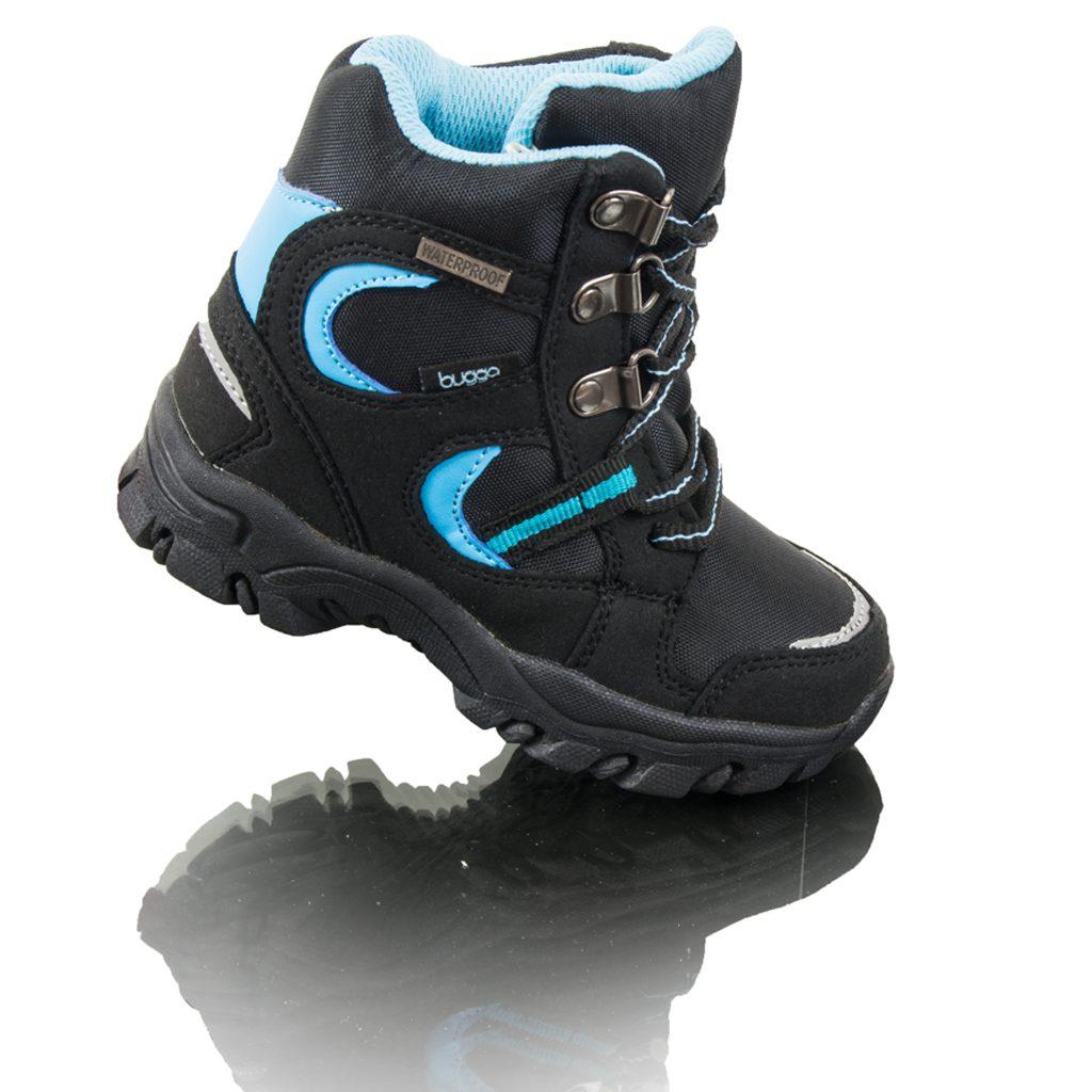 boty zimní nepromokavá membrána, Bugga, B00130-04, modrá - 26