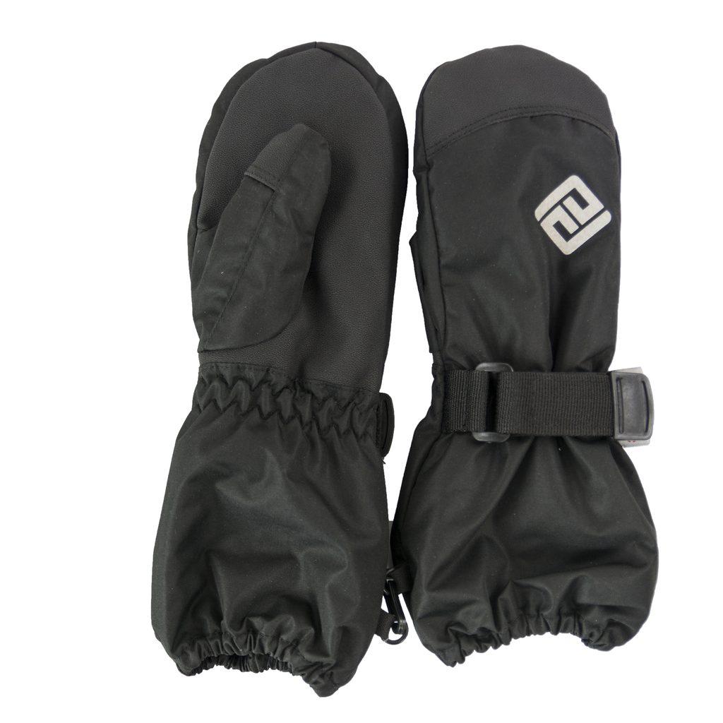 rukavice palcové dětské, Bugga, PD832, černá - 128/134