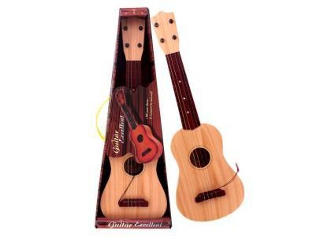 Akustická kytara s trsátkem, WIKY, 116606