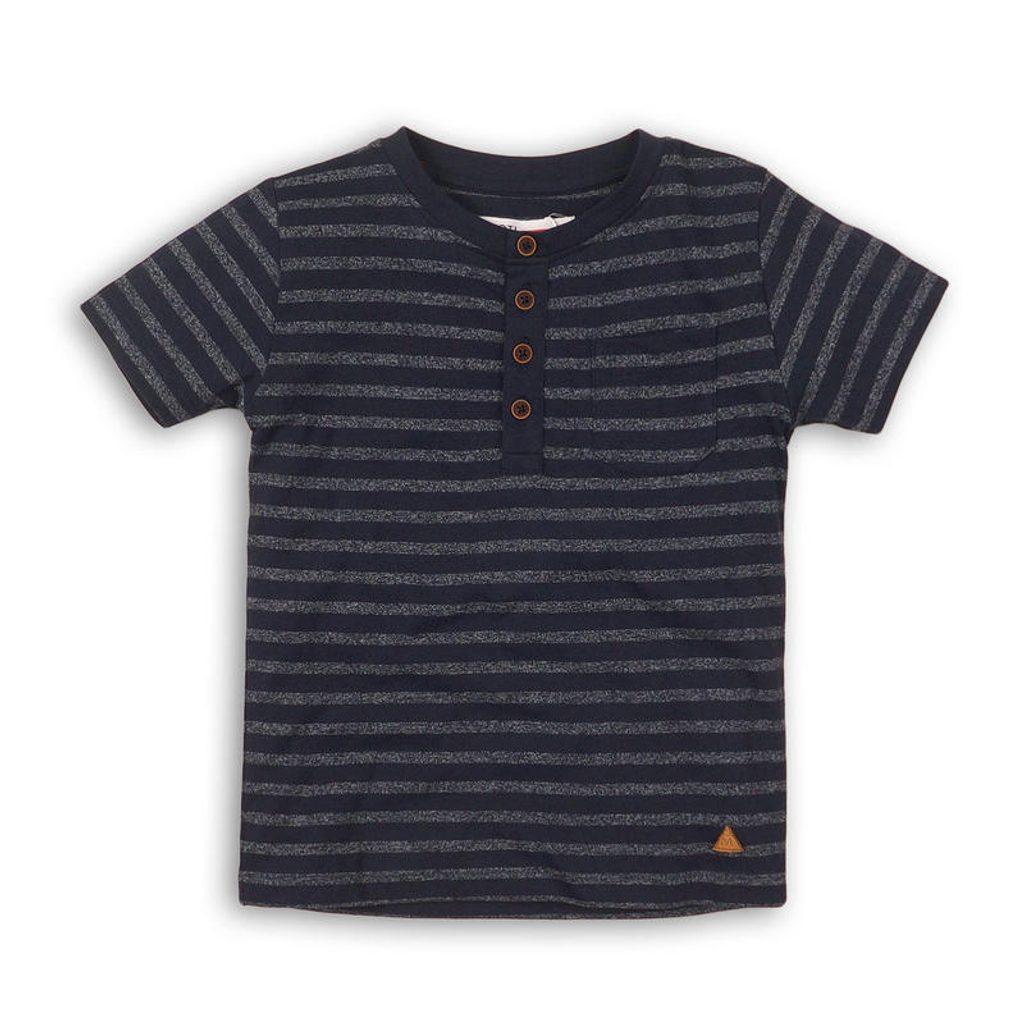 Tričko chlapecké s krátkým rukávem, Minoti, shore 4, modrá - 110/116