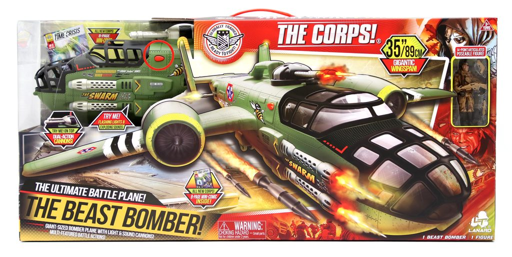 THE CORPS! bombardér BEAST 76x89cm, The Corps, W007481