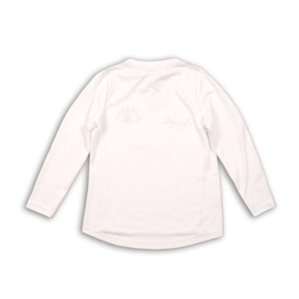 Tričko dívčí s krátkým rukávem, Minoti, SUPER 6, bílá - 68/80