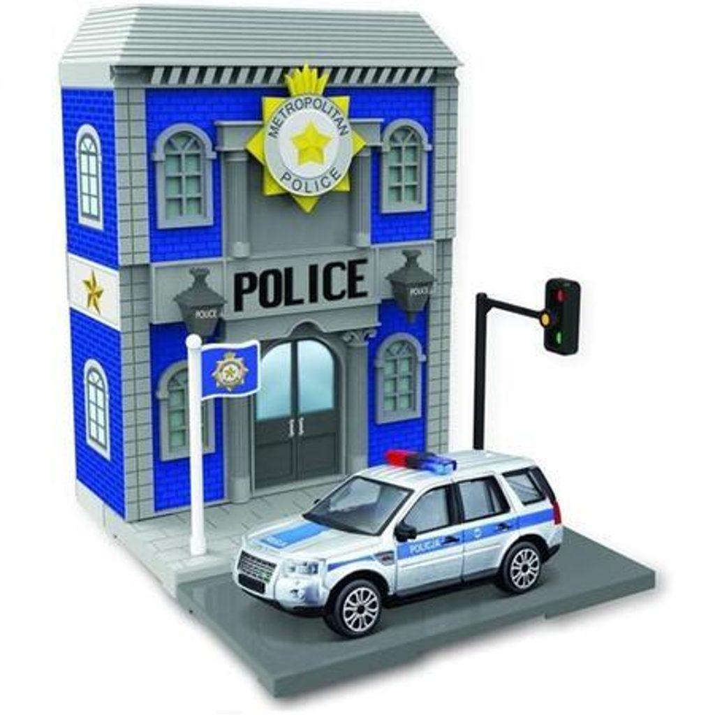 Bburago city 1:43 18-31502 Policejní stanice, Bburago, W010103