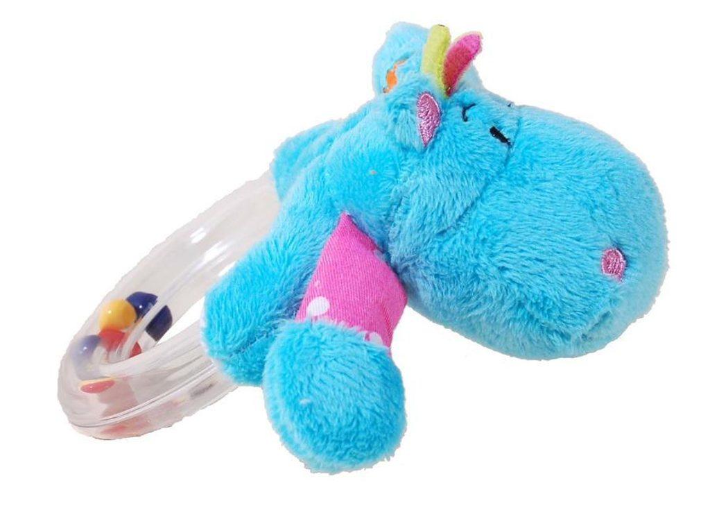 Baby chrastítko zvířátko, Pidilidi, 5002, modrá