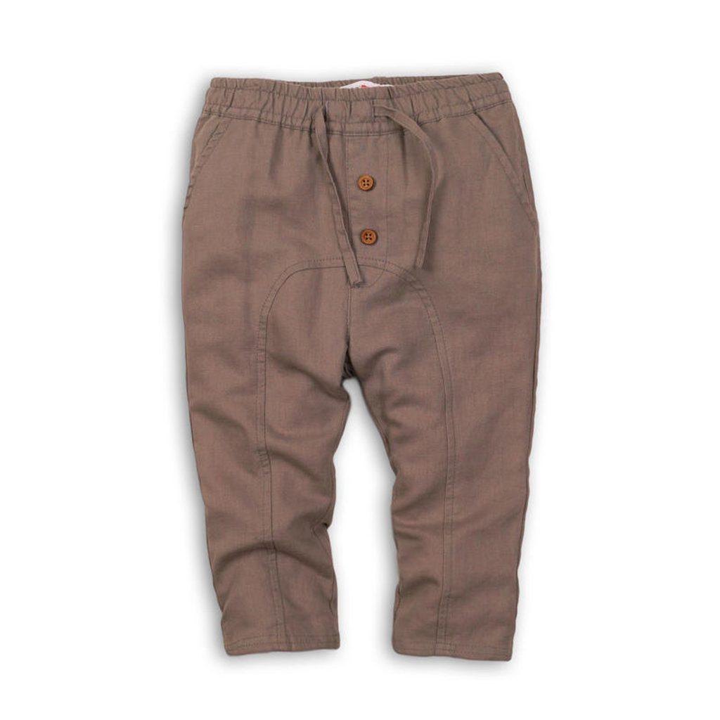 Kalhoty chlapecké, Minoti, DESERT 7, hnědá - 98/104
