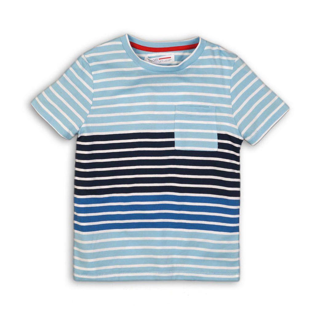 Tričko chlapecké s krátkým rukávem, Minoti, Nomad 5, modrá - 110/116
