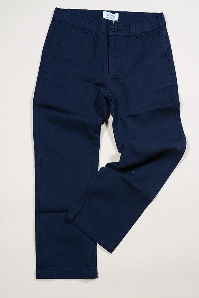 kalhoty dětské, Sobe, 15KECPAN255, modrá - 122