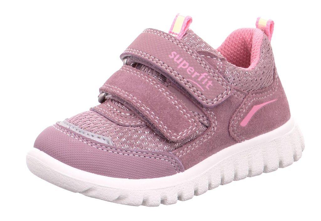 dětské celoroční boty SPORT7 MINI, Superfit, 1-006194-8500, fialová - 26