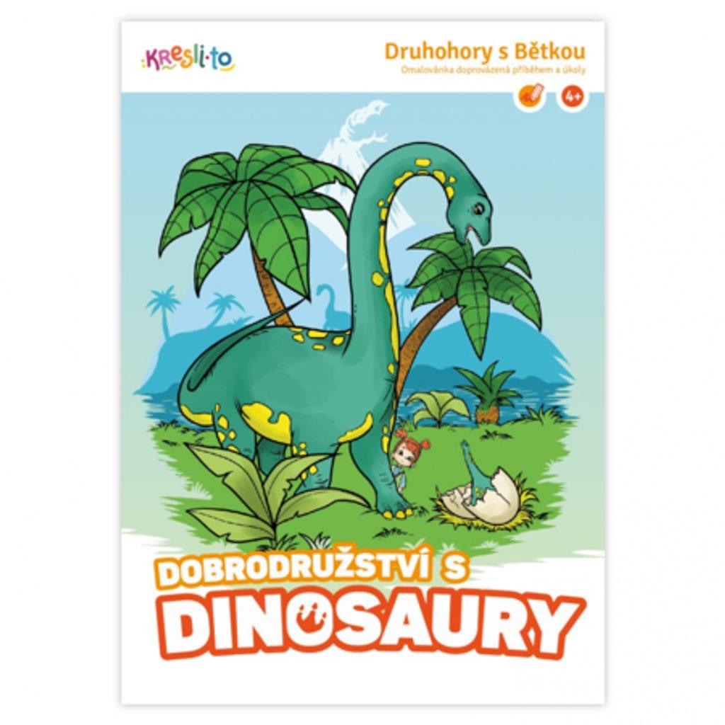 Dobrodružství s dinosaury, Kresli.to, W013234
