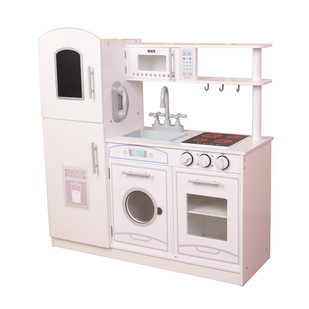 Dřevěná kuchyňka 82x28x85,5 cm, W008228