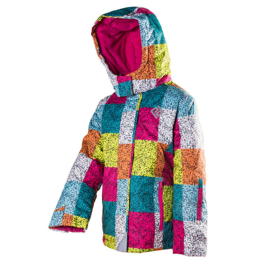 bunda dětská zimní lyžařská, Pidilidi, PD1058-01, holka - 158