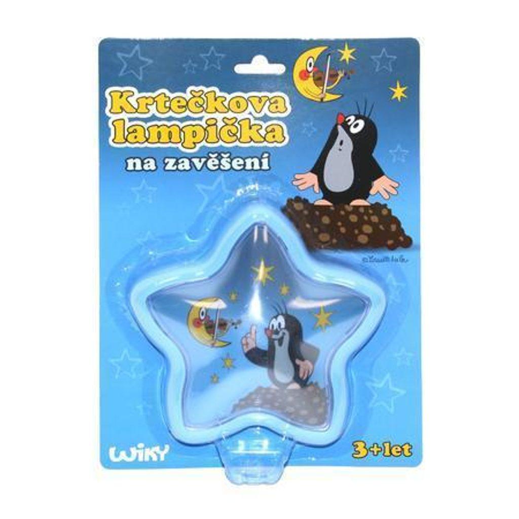 Lampička Krtek 15 cm, WIKY, 170942