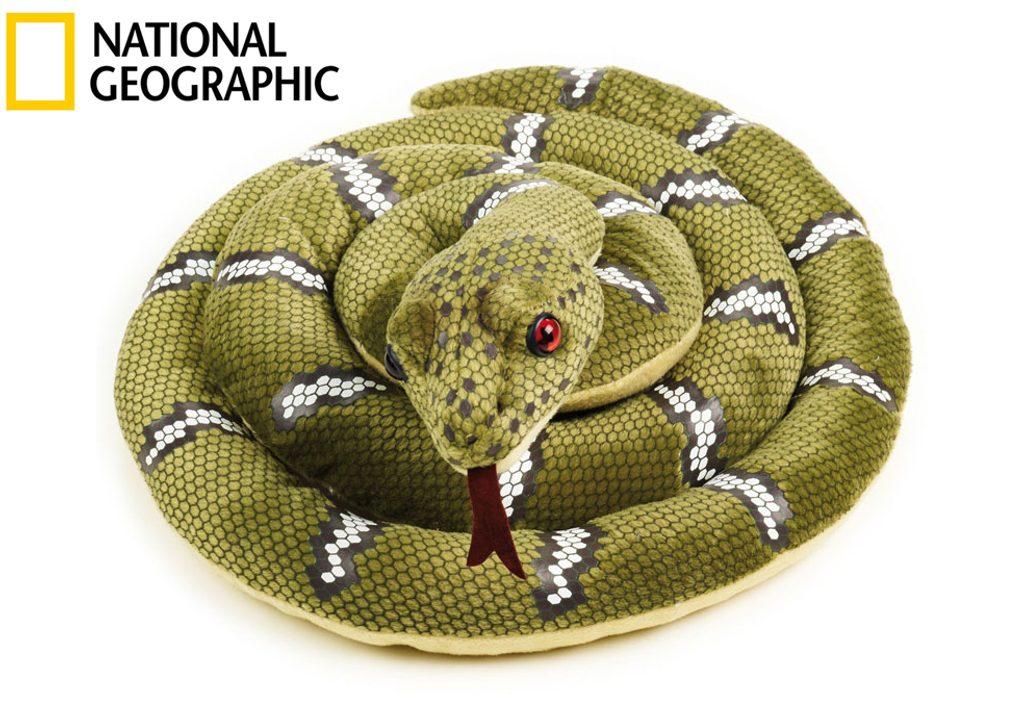 National Geografic Zvířátka z Austrálie 770709 Krajta zelená 125 cm, National Geographic, W011667