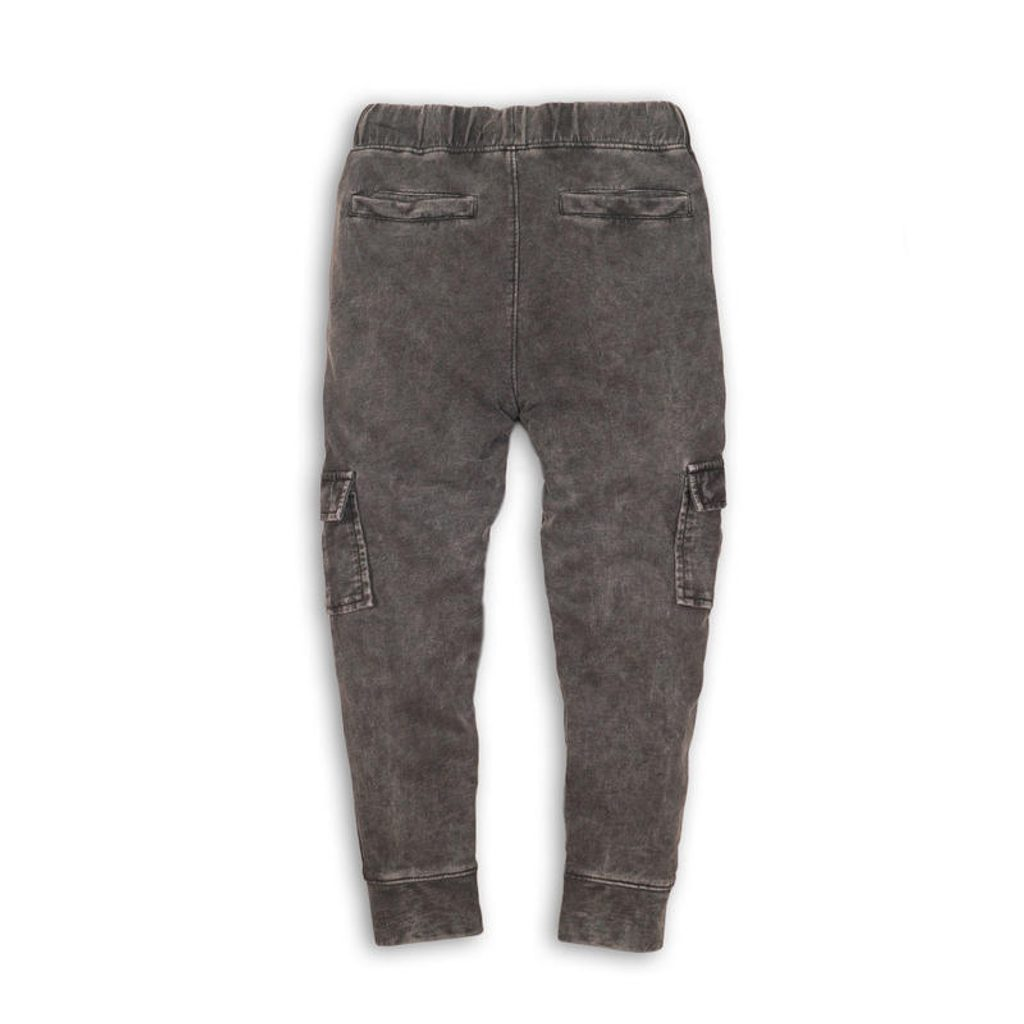 Kalhoty chlapecké, Minoti, LUXE 5, šedá - 128/134
