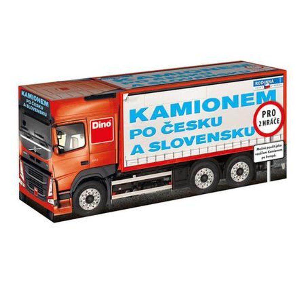 Kamionem po Česku a Slovensku RODINNÁ HRA, Dino Hry, W85736