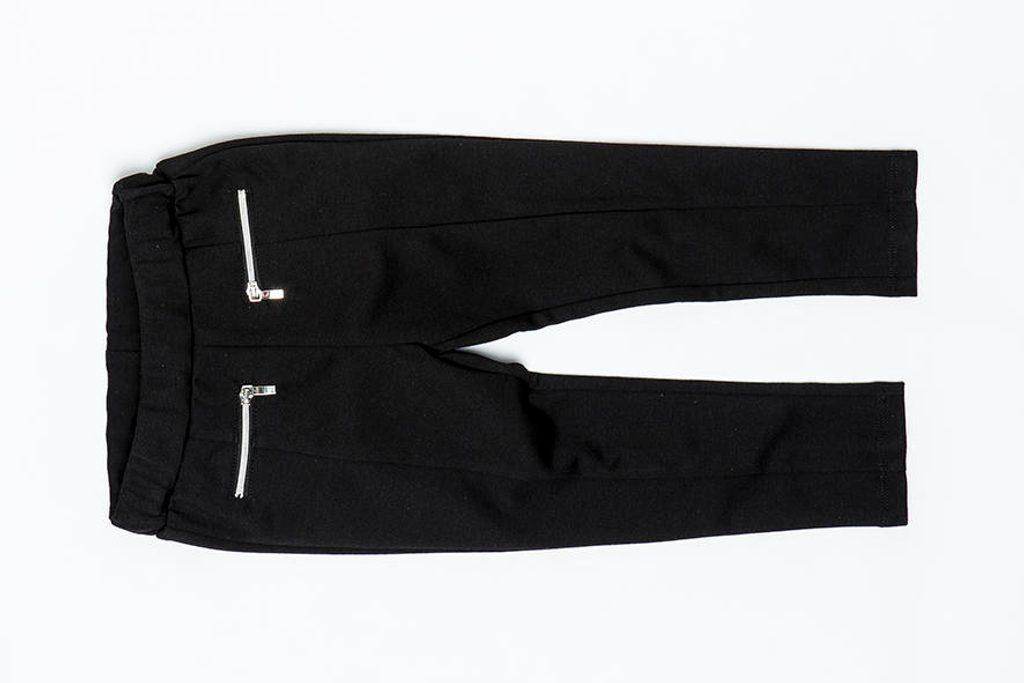 Legíny dívčí jezdecké, s kapsami na zip, Minoti, SHADES 11, černá - 98/104