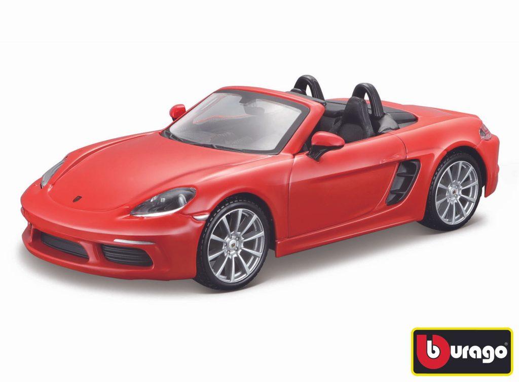 Bburago 1:24 Porsche 718 Boxster Orange, Bburago, W007340