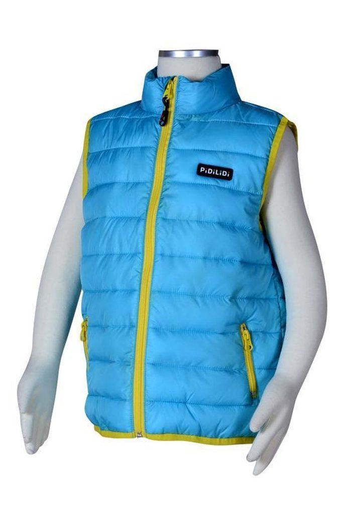 vesta extra lehká nylonová, Pidilidi, PD996, světle modrá - 146