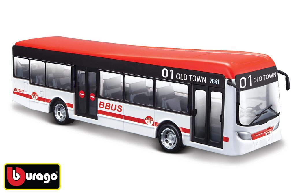 Bburago City Bus 19 cm, Bburago, W007374