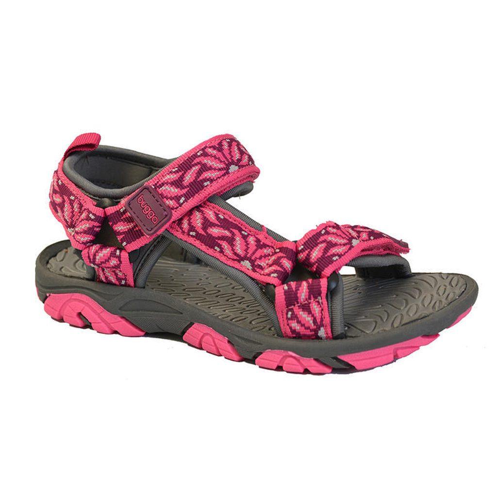 sandály dětské, Bugga, B00148, růžová - 35