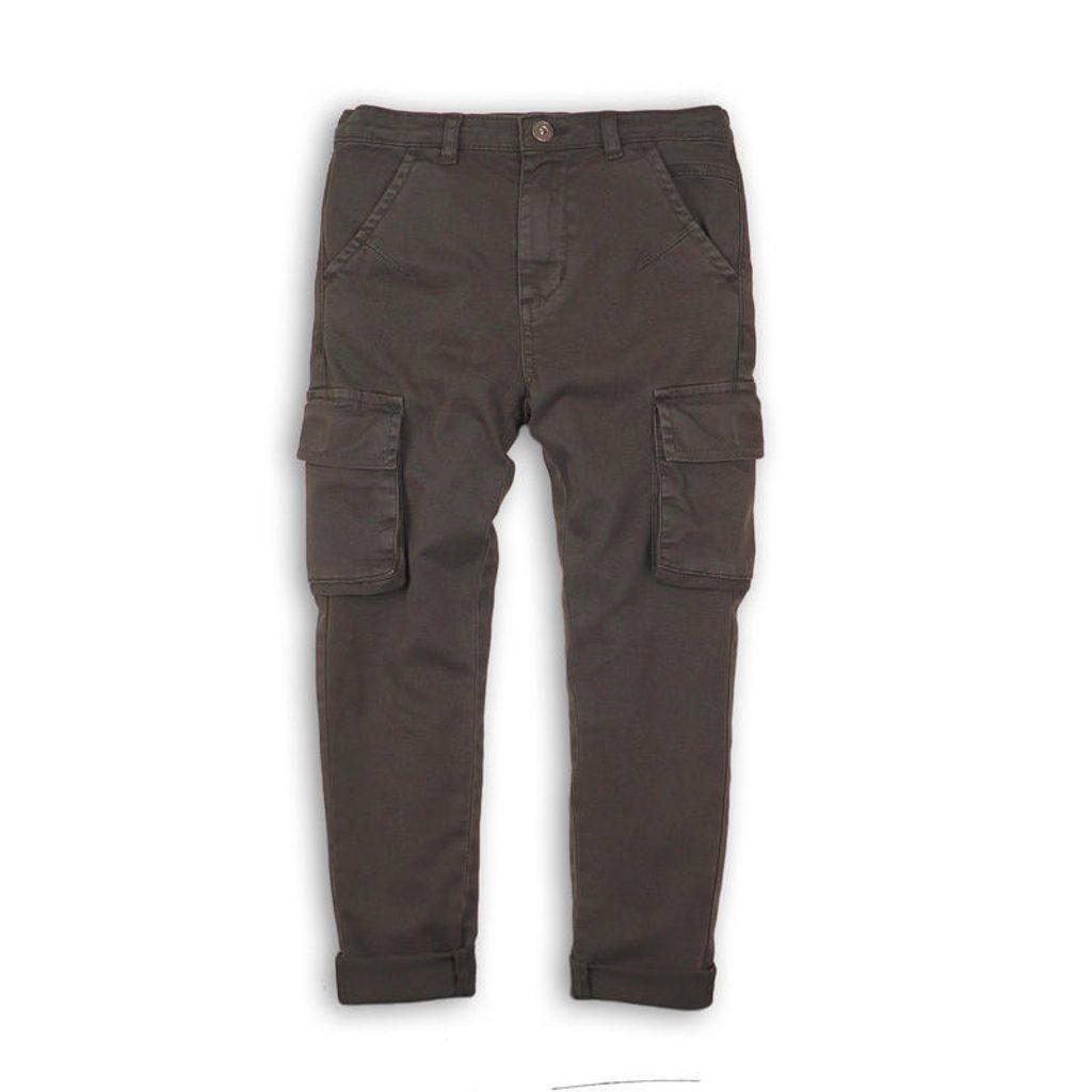 Kalhoty chlapecké kapsové, Minoti, WORD 10, kluk - 110/116