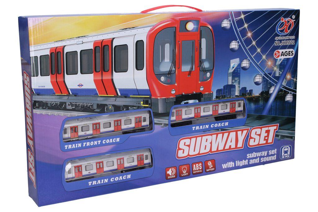 Vlak metro - šířka trati 111 cm, Wiky, W008072