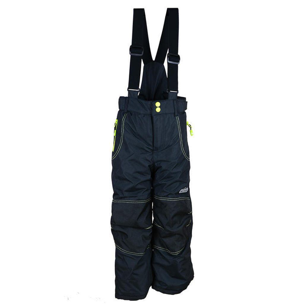 kalhoty zimní lyžařské, Pidilidi, PD1022-10, černá - 158/164