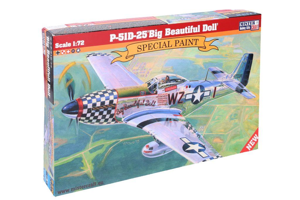 Model P-51D-25 Big Beautiful Doll 1, Mister Craft, W105055