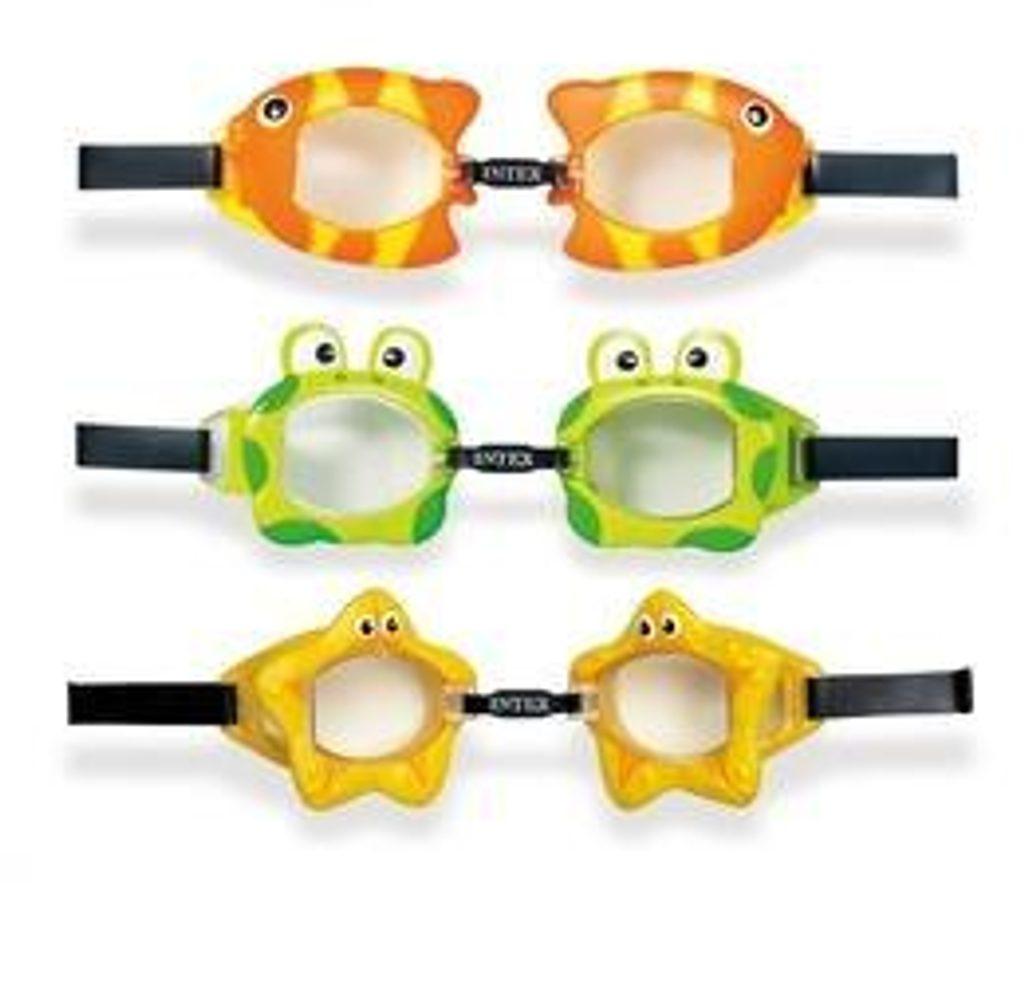 Plavecké brýle FUN 3 až 8, INTEX, 155603