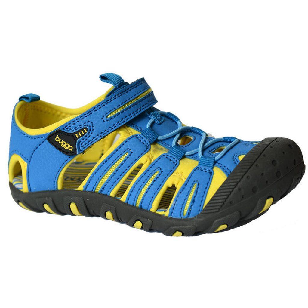 sandále dětské vel. 27 až 35 žlutá, Bugga, B097, modrá - 34
