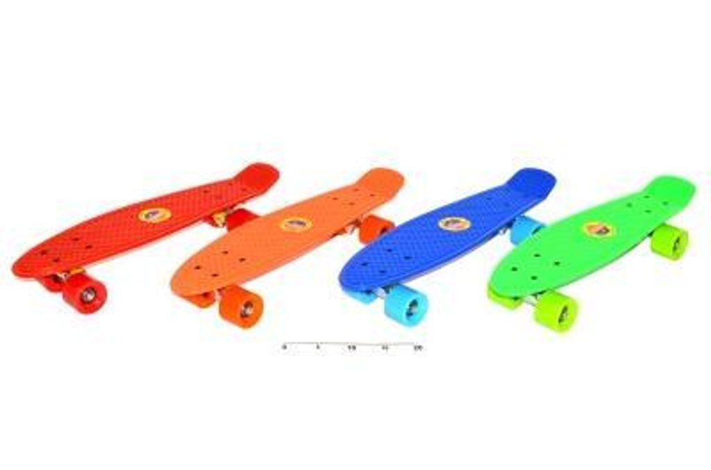 Skateboard jednobarevný 56x15cm, WIKY, 118250