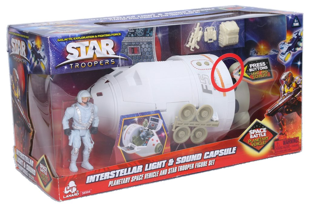 Star Troopers, planetární vozidlo, Star Troopers, W007469