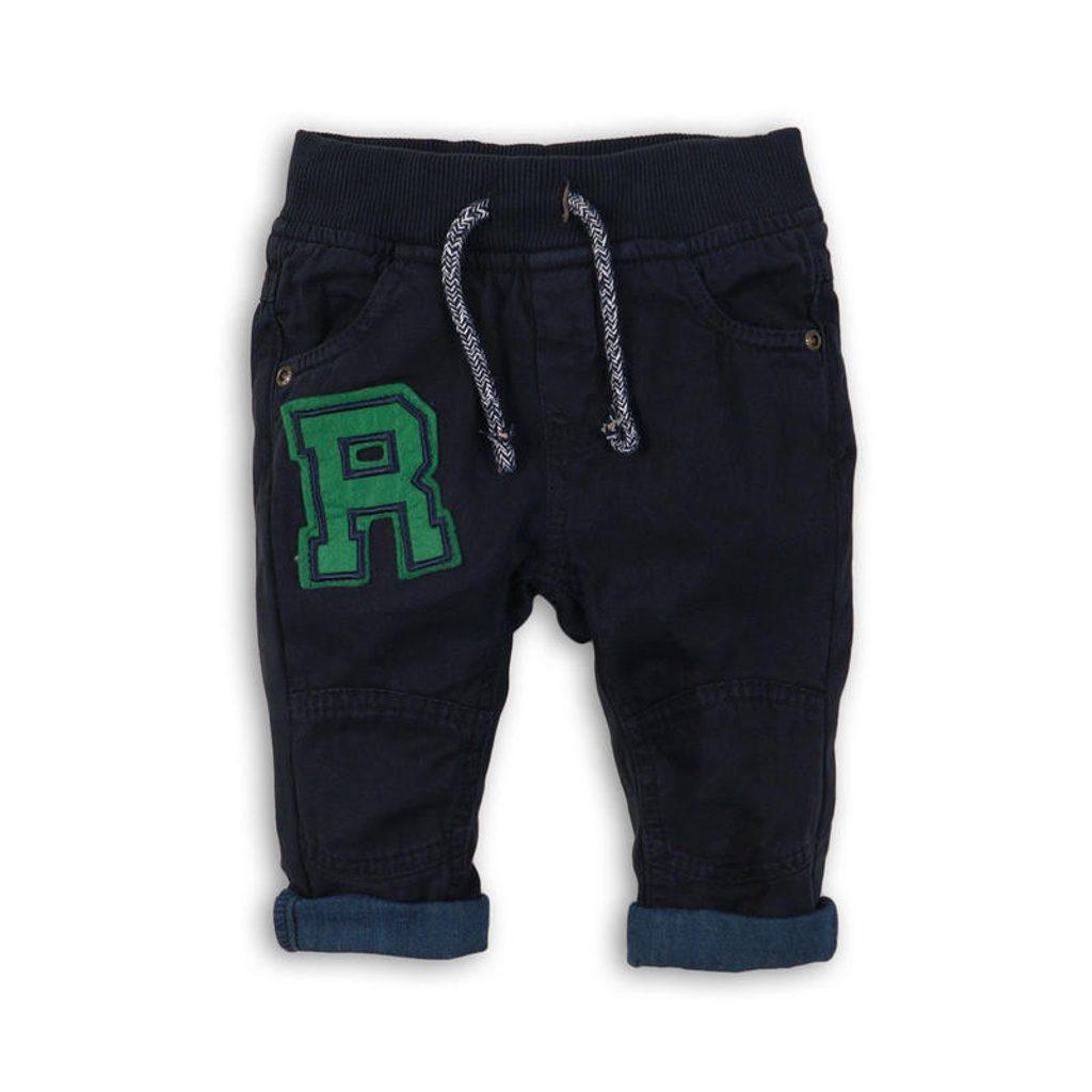 Kalhoty chlapecké, Minoti, FLY 4, modrá - 86/92
