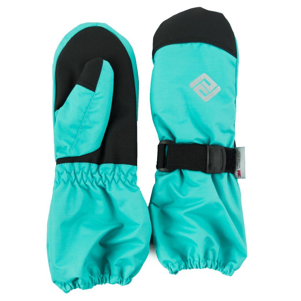 rukavice palcové dětské, Pidilidi, PD1000, modrá - 128/134